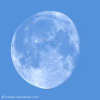 De Maan op dit moment